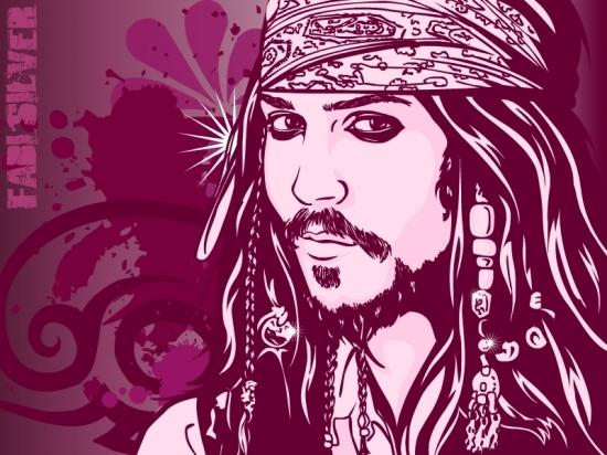 Johnny Depp por studiocartoon